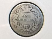 Victoria, Silver (.925), Young Head One Shilling 1846, Poor, AD107